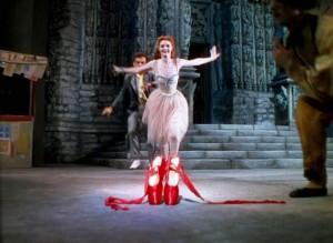 """Cena de """"Os Sapatinhos Vermelhos"""" (The Red Shoes, 1948), de Michael Powell e Emeric Pressburger"""