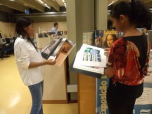 Biblioteca dispõe 42 mil títulos ao público / Foto: Acervo