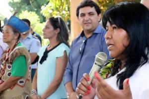 Subsecretária de Políticas Indígenas, Silvana Dias / Foto: Leca