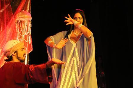 dança do ventre - Lisa e Faruk