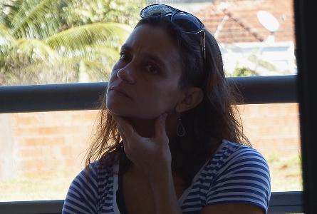 Encontro Rede Brasileira de Teatro - Camila