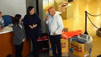 campanha do agasalho - Carlos Alberto