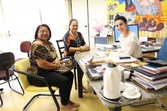 gabinete 27-03-8990 - vereadora Tereza e Nilda de Sta rita do Pardo
